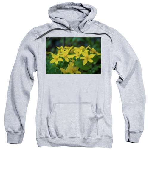 Sweatshirt featuring the photograph Gold In The Marsh by Bill Pevlor
