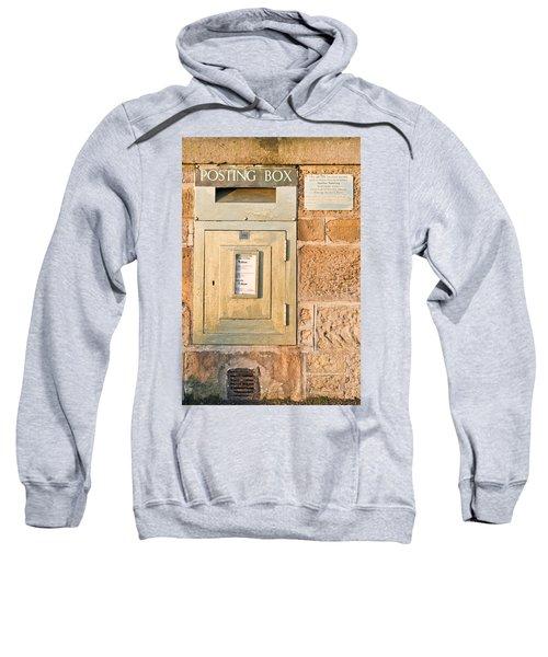 Gold Post Box Sweatshirt