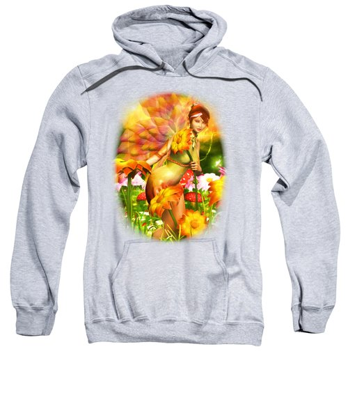Golden Adornments Sweatshirt by Brandy Thomas