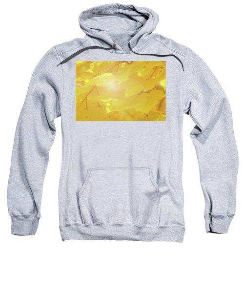 Golden Autumn Leaves Sweatshirt