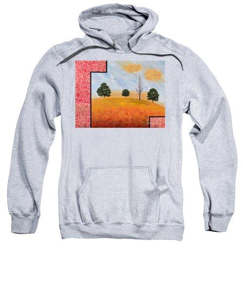 Golden Elegance Sweatshirt