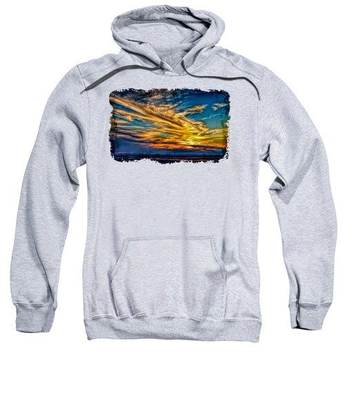 Golden Evening 2 Sweatshirt by John M Bailey