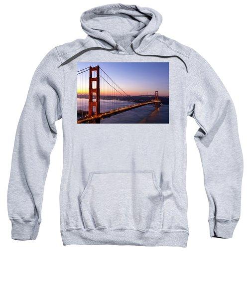 Golden Gate Bridge During Sunrise Sweatshirt