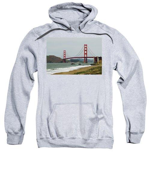 Golden Gate Bridge From Baker Beach Sweatshirt