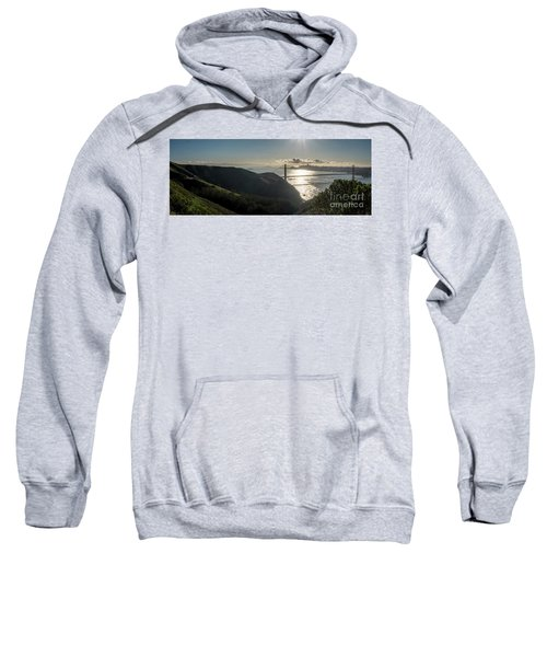 Golden Gate Bridge From The Road Up The Mountain Sweatshirt
