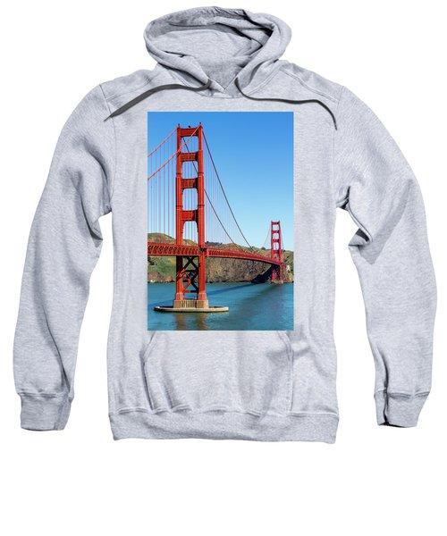 Golden Gate Bridge On Sunny Morning Sweatshirt