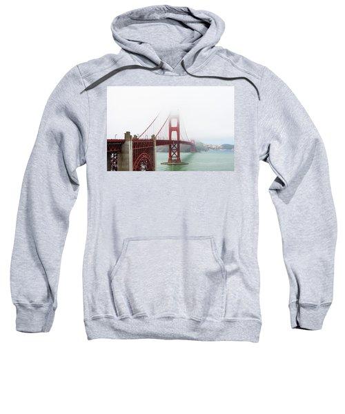 Golden Gate In The Fog Sweatshirt