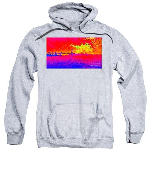 Golden Gate Mod Pop Sweatshirt
