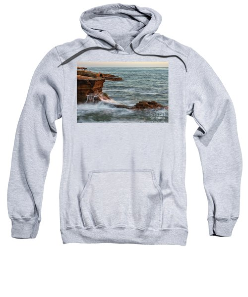 Golden Hour At Sunset Cliffs Sweatshirt