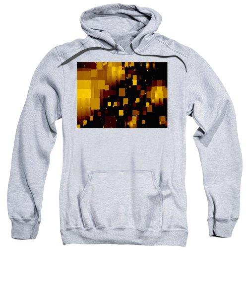 Golden Light And Dark  Sweatshirt