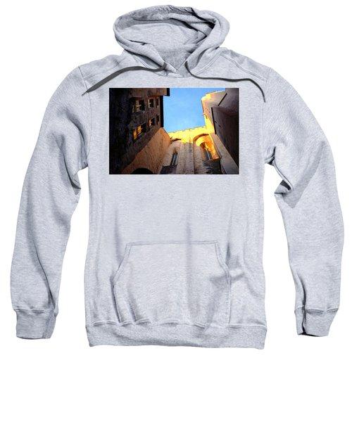 Golden Light In Avignon Sweatshirt