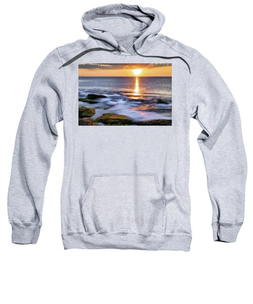 Golden Light Sunset, Rockport  Ma. Sweatshirt