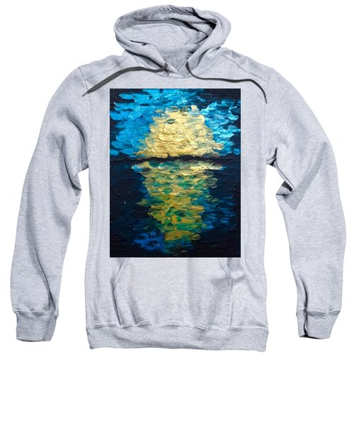 Golden Moon Reflection Sweatshirt