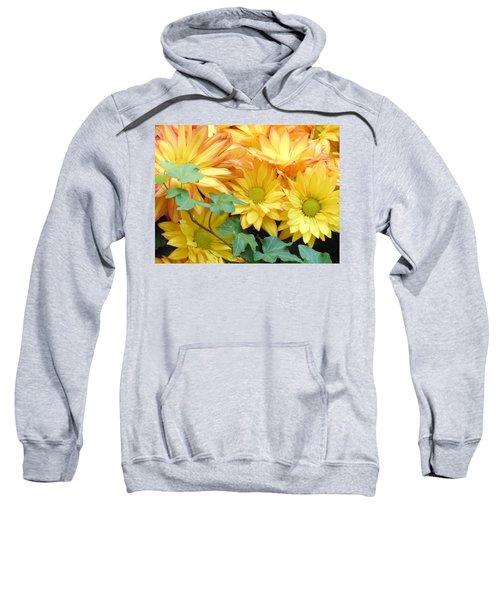 Golden Mums And Ivy Sweatshirt