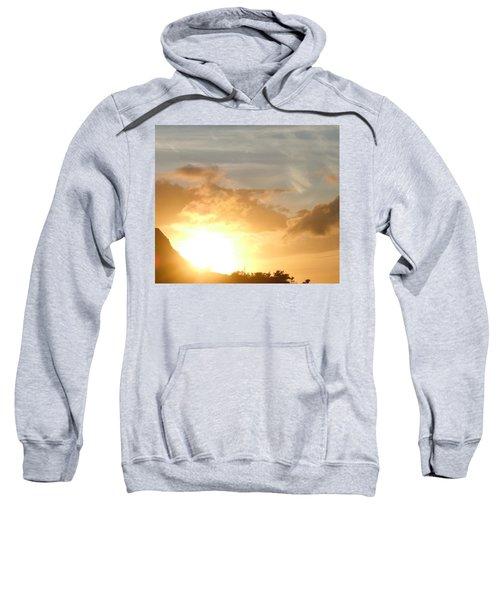 Golden Oahu Sunset Sweatshirt