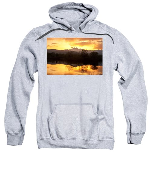 Golden Ponds Longmont Colorado Sweatshirt by James BO  Insogna