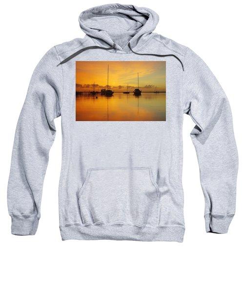 Golden Sunrise At Boreen Point Sweatshirt