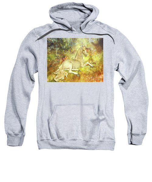 Golden Unicorn Dreams Sweatshirt