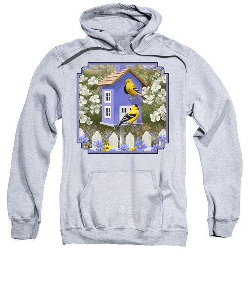 Goldfinch Garden Home Sweatshirt