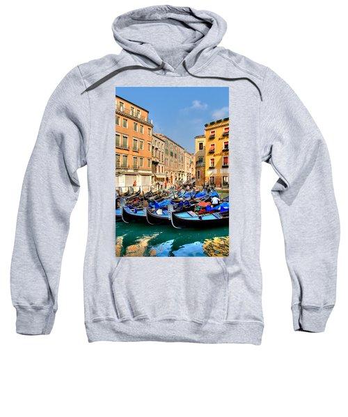 Gondolas In The Square Sweatshirt