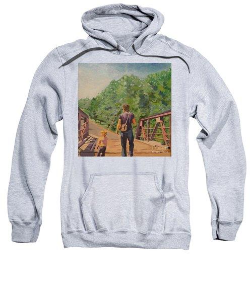 Gone Fishing With Dad Sweatshirt