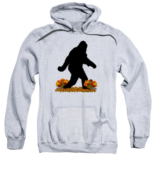 Gone Thanksgiving Squatchin' Sweatshirt