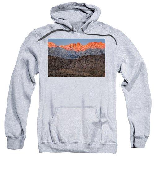 Good Morning Mount Whitney Sweatshirt