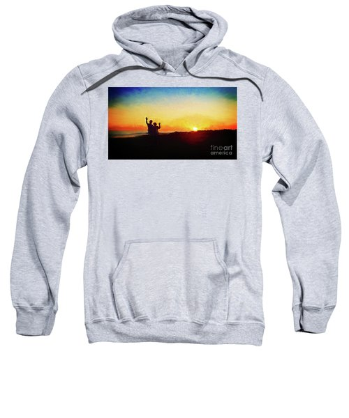 Goodnight Mr. Sun  Sweatshirt
