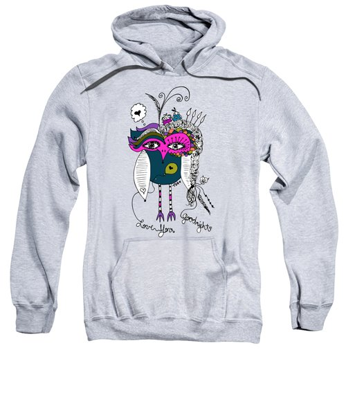 Goodnight Owl Sweatshirt by Tara Griffin