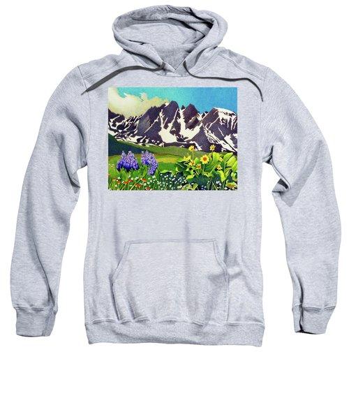 Gore Range Wildflowers Sweatshirt