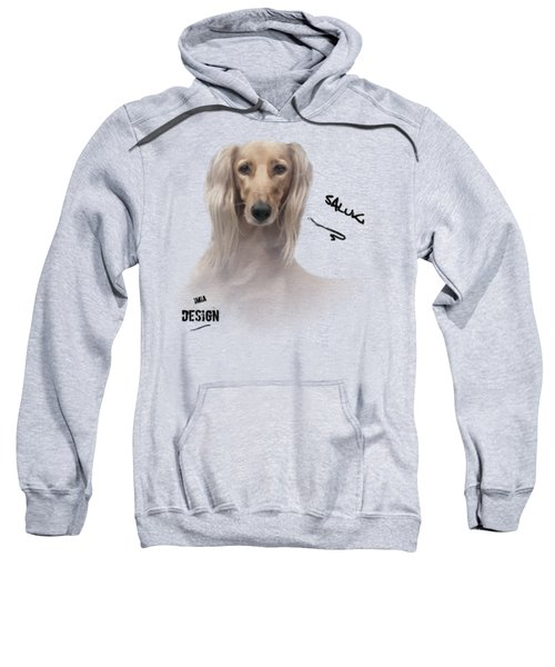 Gorgeous Saluki Relaxing Sweatshirt