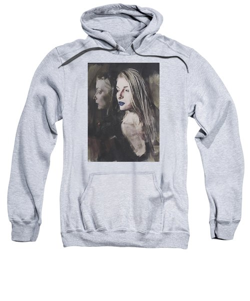 Gothic Mirror Echo Sweatshirt