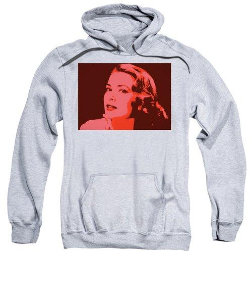 Grace Kelly Pop Art Sweatshirt by Dan Sproul