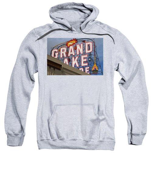 Grand Lake Theatre . Oakland California . 7d13495 Sweatshirt