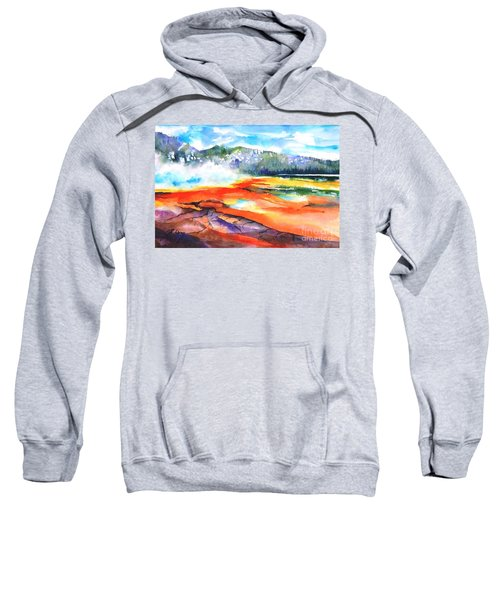 Grand Prismatic Hot Spring Sweatshirt