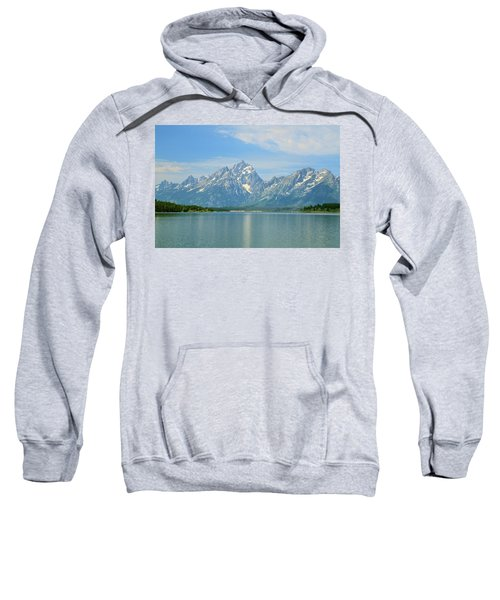 Grand Teton Over Jackson Lake Sweatshirt