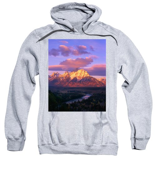 Grand Teton Sunrise Sweatshirt