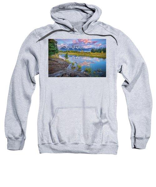 Grand Teton Sunrise Reflection Sweatshirt