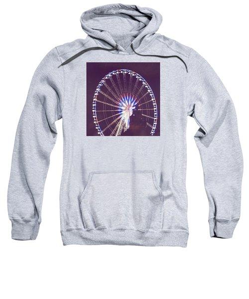 Grande Roue De Paris By Night Sweatshirt