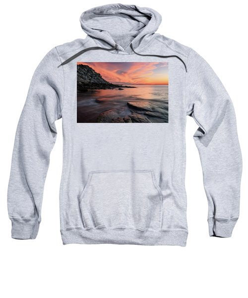 Granite Sunset Rockport Ma. Sweatshirt