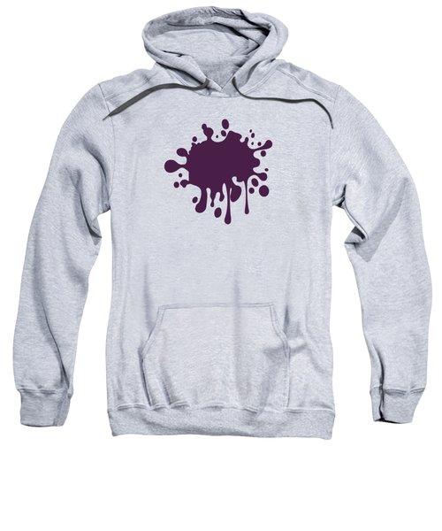 Grape Wine Solid Color Sweatshirt by Garaga Designs