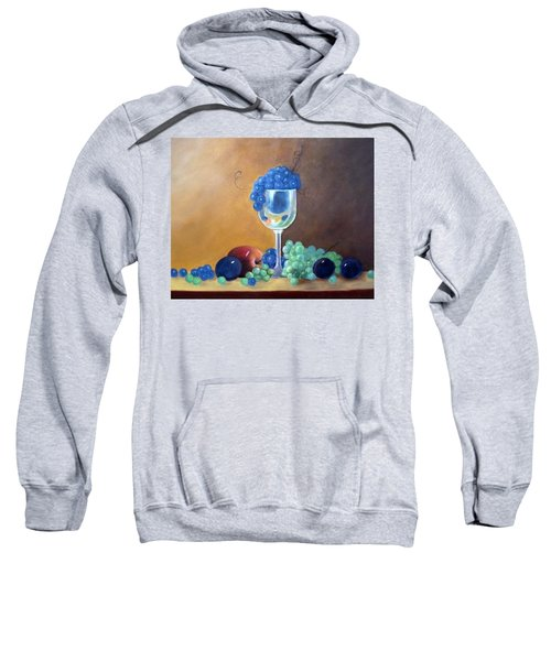 Grapes And Plums Sweatshirt