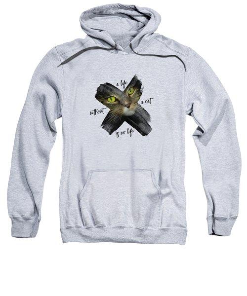 Graphic Art British Shorthair Cat Sweatshirt
