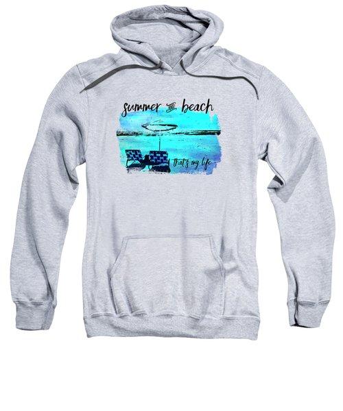 Graphic Art Summer And Beach Sweatshirt