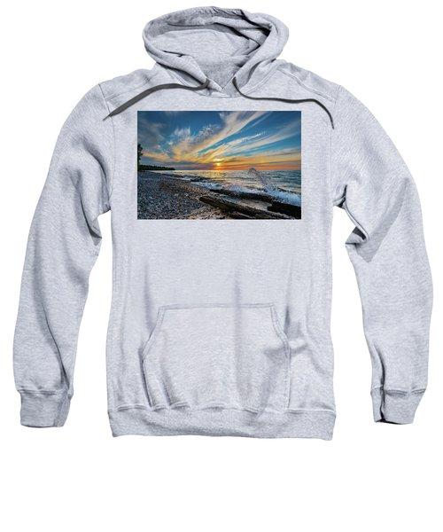 Graveyard Coast Sunset Sweatshirt