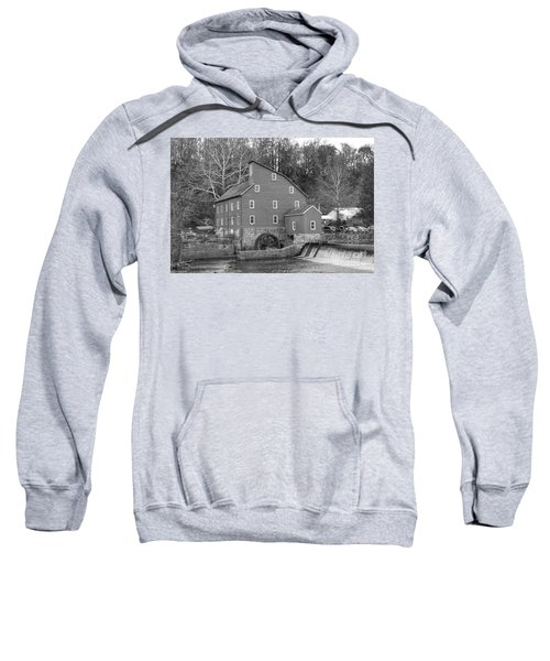 Gray Autumn At The Old Mill In Clinton Sweatshirt
