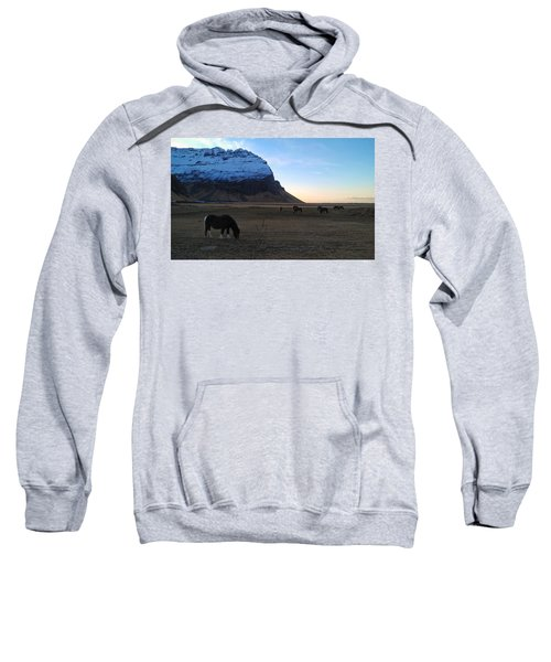 Grazing At Dawn Sweatshirt