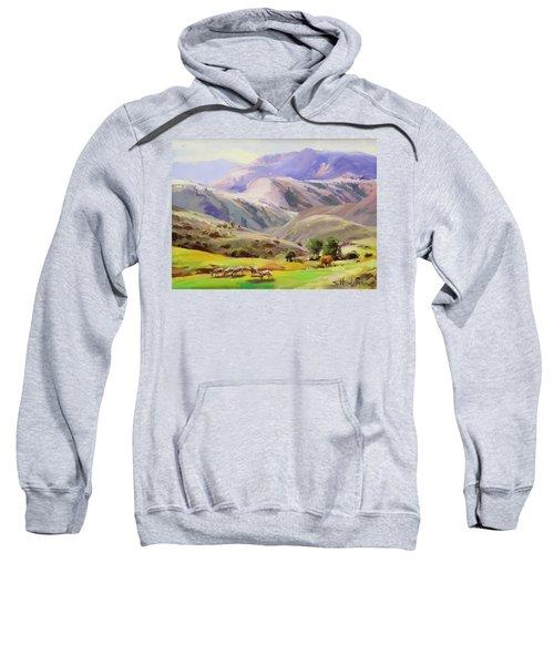 Grazing In The Salmon River Mountains Sweatshirt