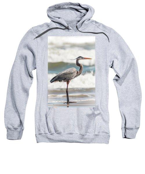 Great Blue Heron Profile Sweatshirt