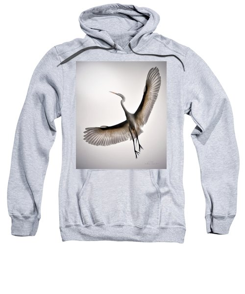 Great Egret Majesty Sweatshirt